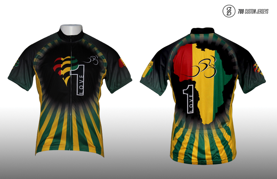 One Love Cycling Jersey